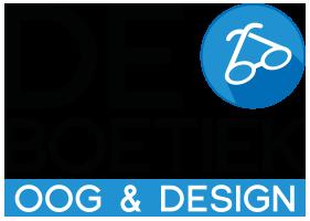 Logo - De Boetiek - Oog & Design